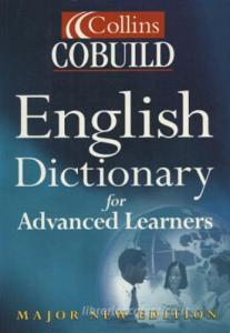 English dictionary for advanced learners brossura paperback