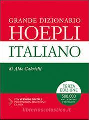 Grande dizionario Hoepli italiano