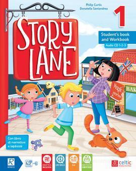 Story lane. Per la Scuola elementare. Con e-book. Con espansione online vol.1