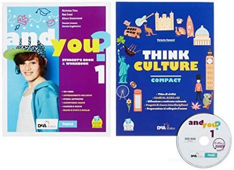 And you? Student's book & Workbook. Con Think culture. Per la Scuola media. Con e-book. Con espansione online. Con DVD-ROM vol.1