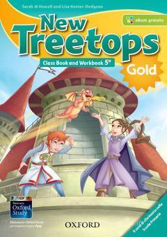 New treetops. Class book-Workbook. Ediz. gold. Per la Scuola elementare. Con e-book. Con espansione online. Con Libro: Culture companion vol.5