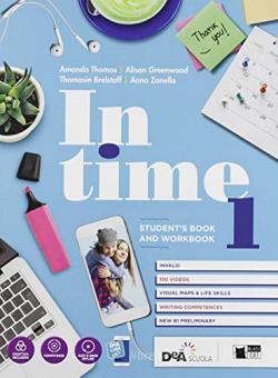 In time. Student's book-Workbook. Per le Scuole superiori. Con e-book. Con espansione online. Con 2 libri: Starter-Tavole dei verbi. Con DVD-ROM vol.1