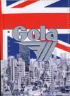 Diario Gola non datato 12 mesi. Bandiera inglese skyline
