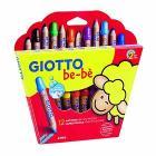 Confezione 12 matitoni con temperamatite Giotto be-bè