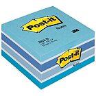 Blocchetto da 450 notes adesivi Post-It mm 76x76 blu azzurro