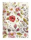 Agenda 12 mesi settimanale 2021 Ladytimer Flower Field
