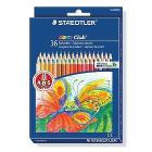 Confezione 36 matite colorate Noris Club