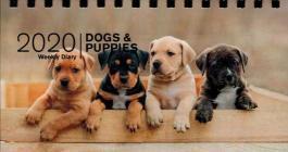 Dogs and Puppies 2020. Agenda settimanale spiralata small
