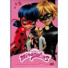 Miraculous Diario 12 mesi non datato Ladybug e Chat Noir. Rosa