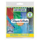 Confezione 20 penne a sfera InkJoy 100 4 colori