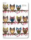 Ladytimer Owls Agenda Settimanale 2016