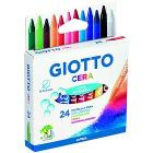 Confezione 24 pastelli a cera Giotto Cera