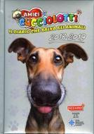 Amici Cucciolotti 2018-2019. Diario 12 mesi. Grigio