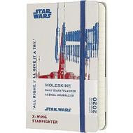 Moleskine 12 mesi - Agenda giornaliera Limited Edition Star Wars X-Wing - Pocket copertina rigida 2020