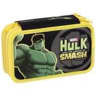 Astuccio triplo scomparto Hulk completo con 43 pezzi