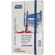 Moleskine 12 mesi - Agenda settimanale Limited Edition Star Wars X-Wing - Pocket copertina rigida 2020