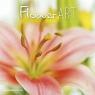 Calendario 2021 Flower Art 30x30