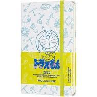 Moleskine 12 mesi - Agenda settimanale Limited Edition Doraemon bianco - Pocket copertina rigida 2020