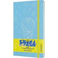 Moleskine 12 mesi - Agenda settimanale Limited Edition Doraemon azzurro - Large copertina rigida 2020