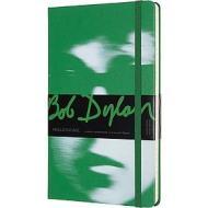 Moleskine - Taccuino a righe Bob Dylan verde - Large copertina rigida