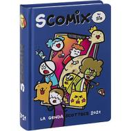 Comix 2020-2021. Diario agenda 16 mesi medium Scottecs by Sio. Blu
