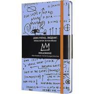 Moleskine - Taccuino pagine bianche Basquiat lilla - Large copertina rigida