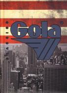 Diario Gola non datato 12 mesi. Bandiera americana skyline