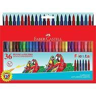Confezione 36 pennarelli Fiesta con punta fine in feltro