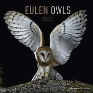 Calendario 2020 Owls 30x30 cm