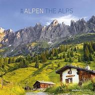 Calendario 2019 The Alps 30x30 cm