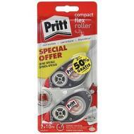 Confezione 2 correttori a nastro riscrivibile Pritt Compact Roller