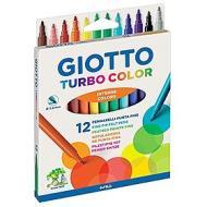 Confezione 12 pennarelli a punta fine Turbo Color