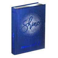Smemoranda 2021. Diario Smemo 16 mesi large. Special Edition Shine. Logo blu