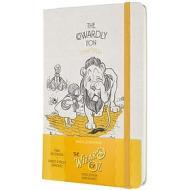 Moleskine - Taccuino pagine bianche Il mago di Oz giallo - Large copertina rigida
