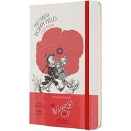 Moleskine - Taccuino a righe Il mago di Oz rosso - Large copertina rigida