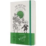 Moleskine - Taccuino a righe Il mago di Oz verde - Large copertina rigida