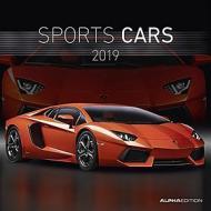 Calendario 2019 Sports Cars 30x30 cm