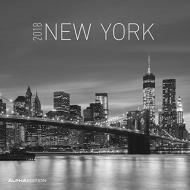 Calendario da muro New York 2018
