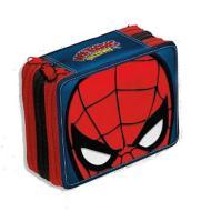 Astuccio Spider-Man 3 scomparti e accessori
