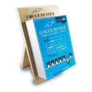 Calendario letterario 2020 Gocce di Vita con supporto in legno