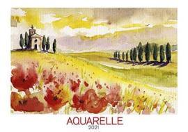 Calendario 2021 Aquarelle 48,5x34