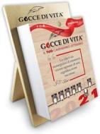 Calendario letterario 2021 Gocce di Vita con supporto in legno