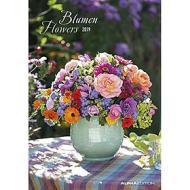 Calendario 2019 Flowers 24x34 cm