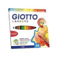 Confezione 24 pastelli Giotto Laccato