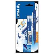 Confezione penna roller cancellabile e 3 refill Frixion Ball Clicker