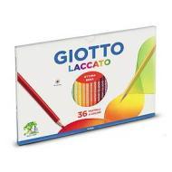Confezione 36 pastelli Giotto Laccato