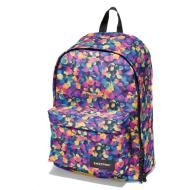 Zainetto Out of Office in tessuto poly fiorato Blu con scomparto porta PC (35H EK767)