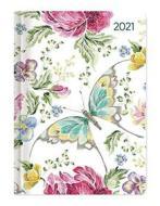 Agenda 12 mesi settimanale 2021 Ladytimer Butterfly