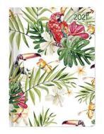 Agenda 12 mesi settimanale 2021 Ladytimer Jungle