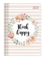 Agenda 12 mesi settimanale 2021 Ladytimer Think happy